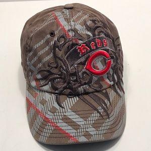 Women's Cincinnati Reds Brown Fitted Baseball Hat